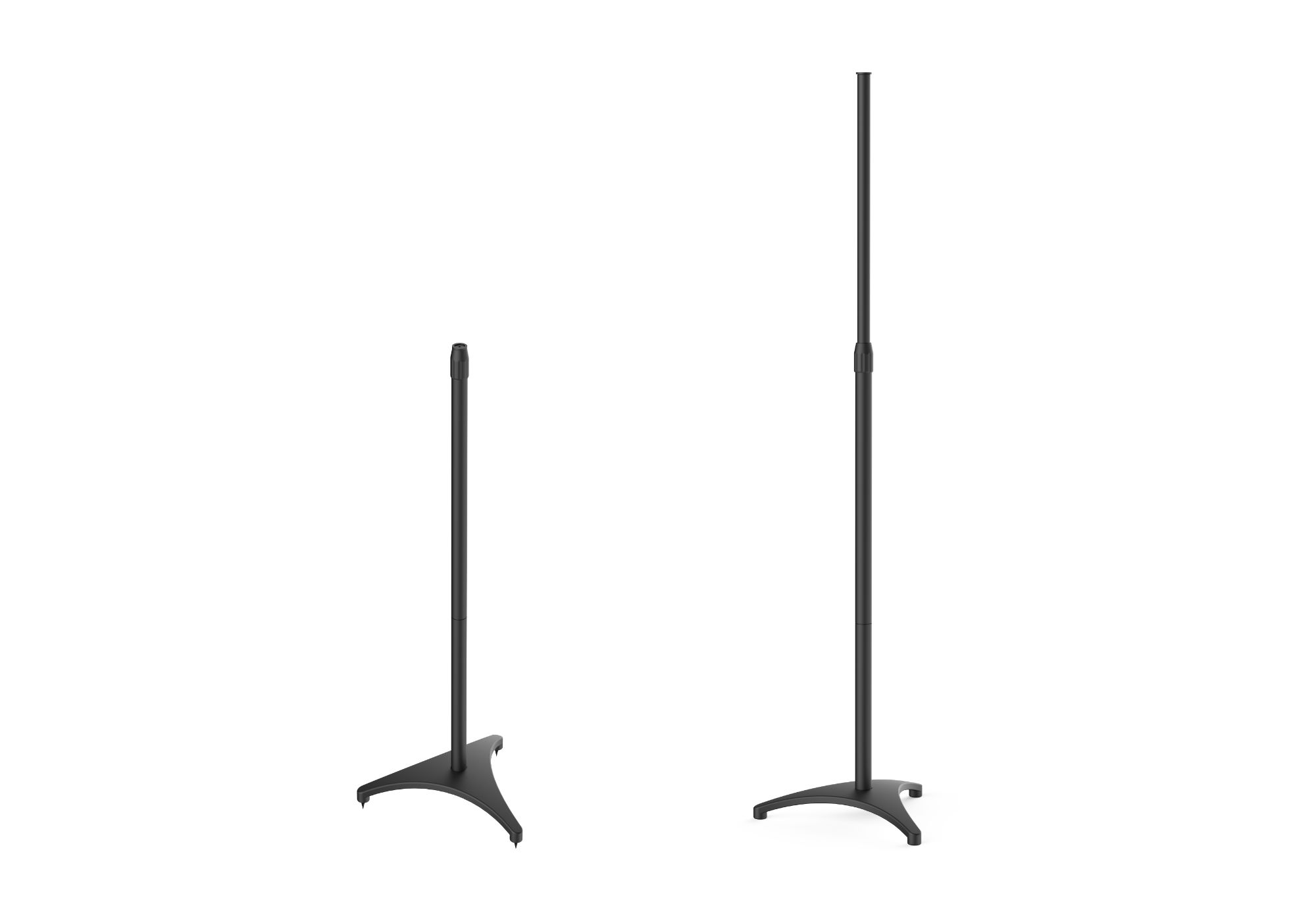 PERLESMITH speaker stands against a white background