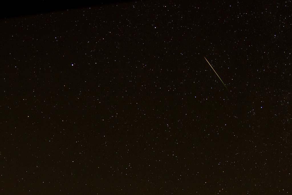 Las Perseidas es la lluvia de estrellas más popular y abundante.