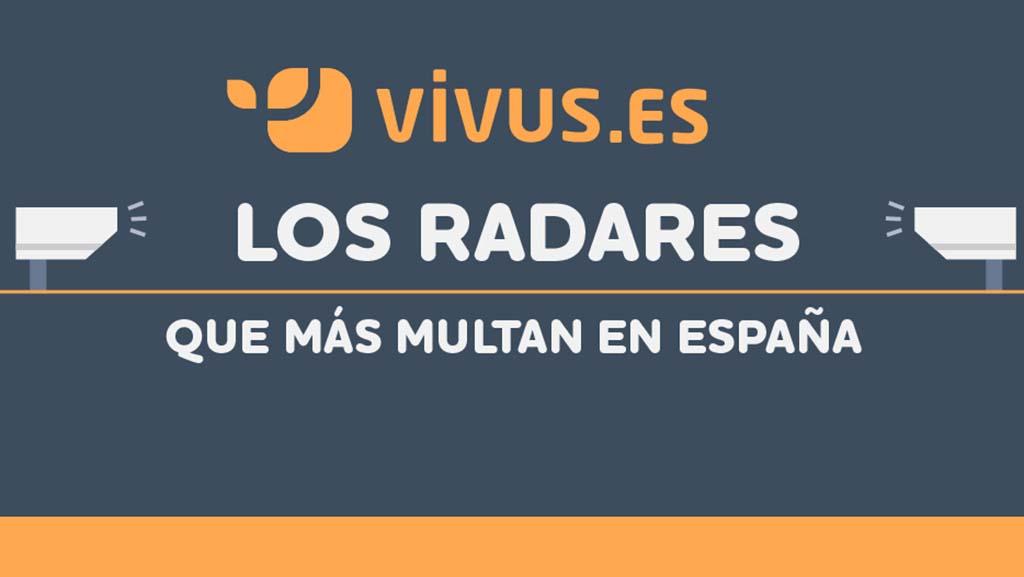 Los 50 radares que más multan en España | Vivus.es