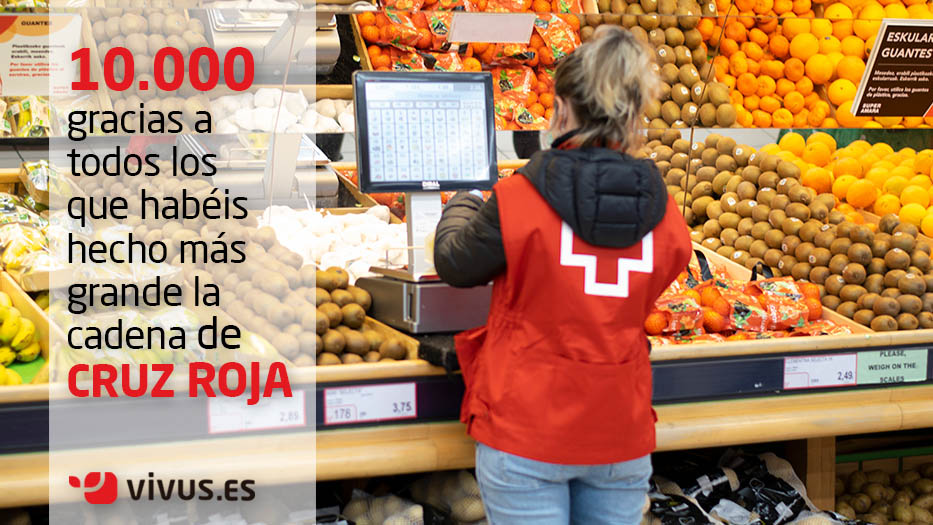 Vivus se suma al plan Cruz Roja Responde y dona 10.000 euros | Vivus.es