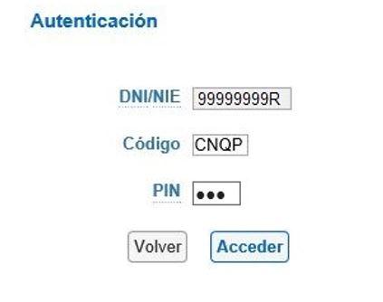 Así es el proceso de autentificación con la Cl@ve PIN