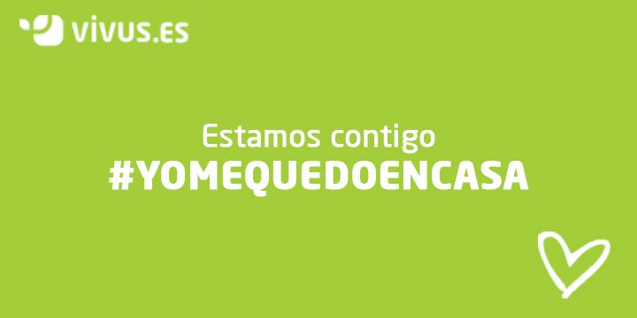 Estamos contigo: Vivus se suma al reto #YoMeQuedoEnCasa |
