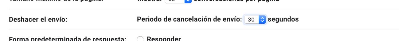 Trucos de gmail: activa la opción de deshacer envío