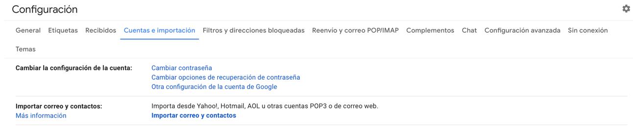 Trucos de gmail: sincroniza varias cuentas de gmail en el mismo sitio