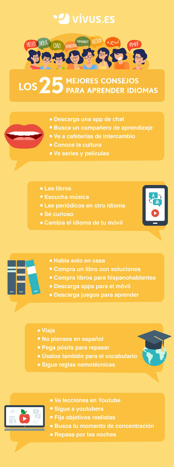 consejo para aprender idiomas
