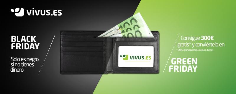 Convierte con Vivus.es tu Black Friday en Green Friday