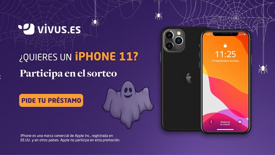 ¿Quieres un iPhone 11? ¡Participa en el sorteo de Vivus!