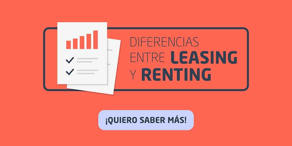 Diferencias entre leasing y renting que debes conocer | Vivus.es