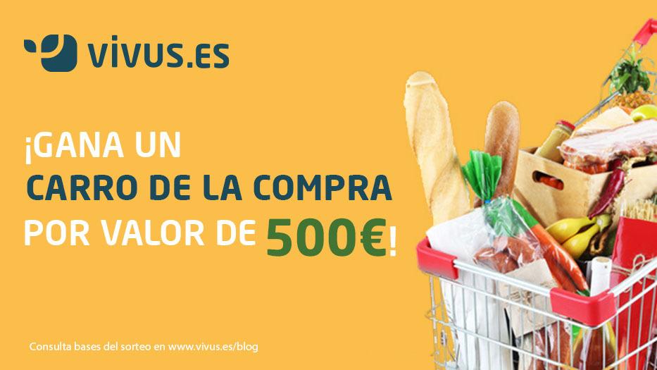 ¡Gana un carro de la compra valorado en 500€ este noviembre!