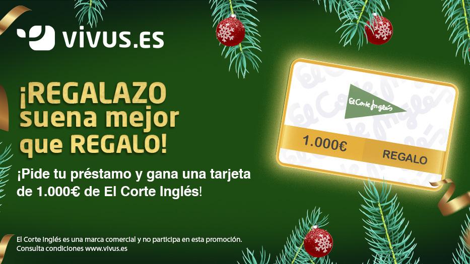 ¡Esta Navidad gana 1.000€ con Vivus! Participa en el sorteo | Vivus.es