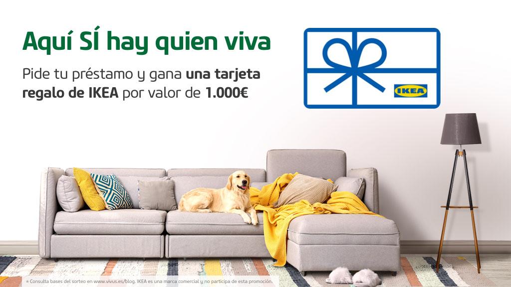 Tu casa ¡más vivus que nunca! Sorteazo de 1 tarjeta regalo valorada en 1000€ en IKEA