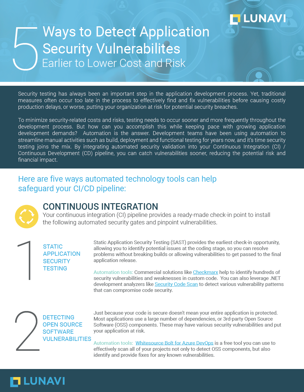5 Ways to Detect Application Security Vulnerabilities Earlier