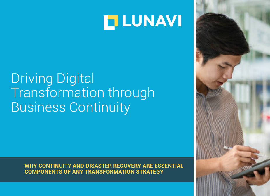Driving Digital Transformation Through Business Continuity
