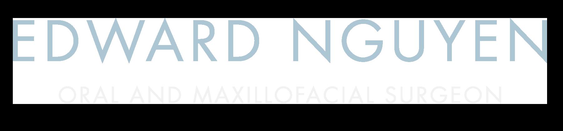 Edward Nguyen Text Logo