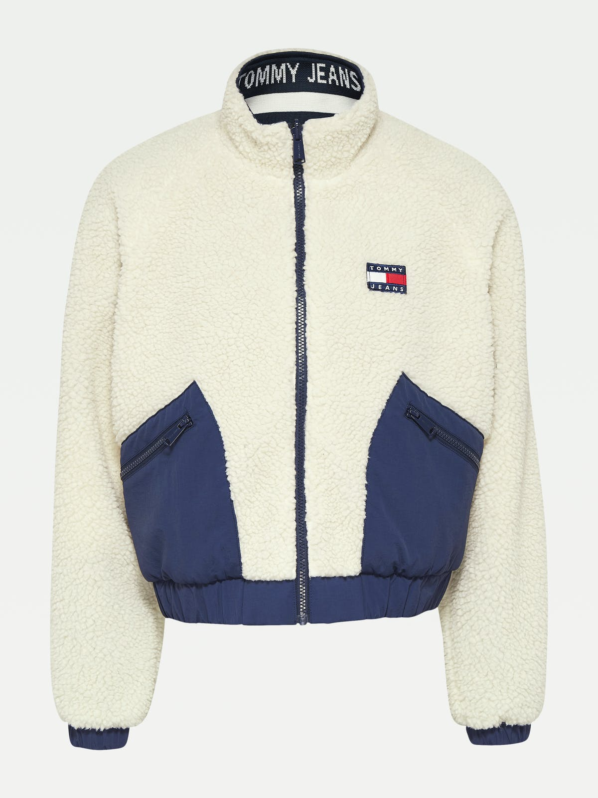 Reversible Relaxed Fit Sherpa Jacket