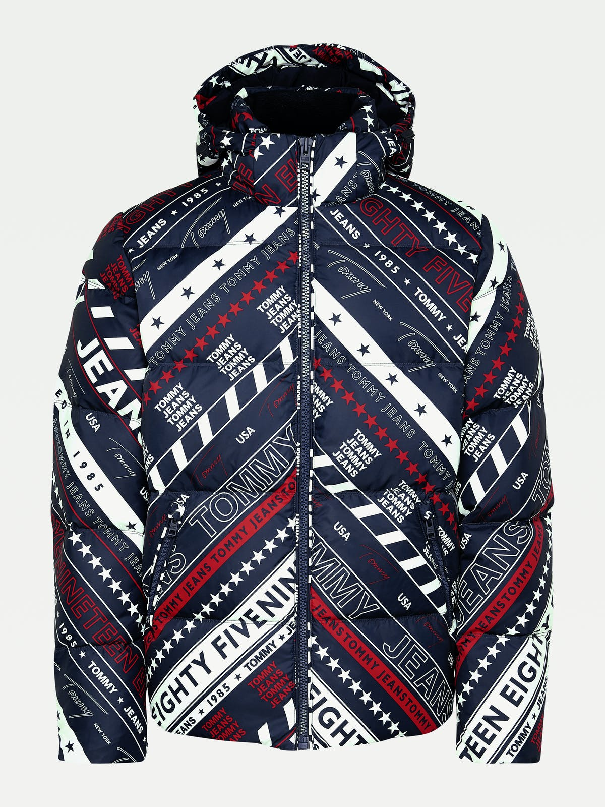 All-Over Logo Down Jacket