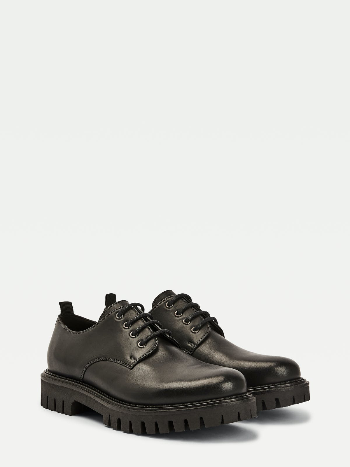 Chunky Leather Dress Shoes