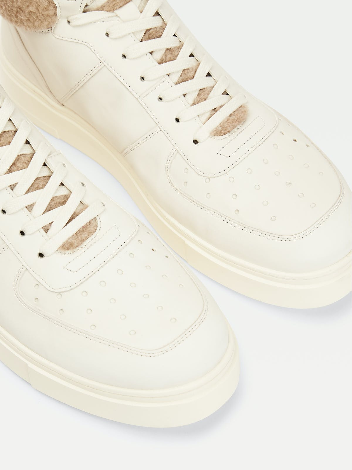 Lewis Hamilton Shearling High-Top Trainers