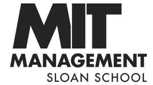 MIT Sloan School of Management Logo in Black text on a white background. Virbela Customer