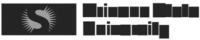 Arizon State University Logo in Grey on a white background. Virbela Customer.