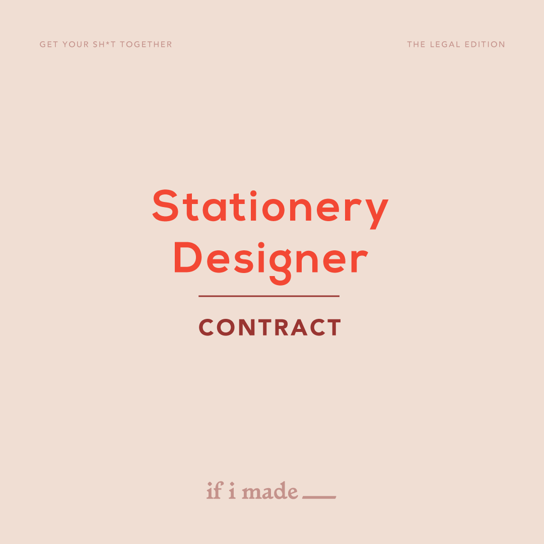 Stationary Designer Contract
