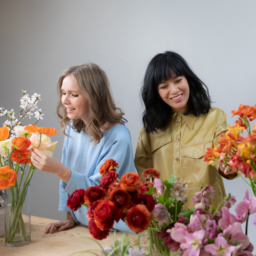 Studio Mondine with Flowers