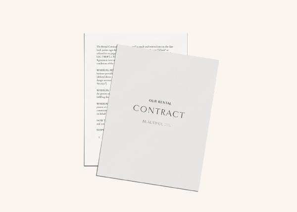 Rental Biz Contract