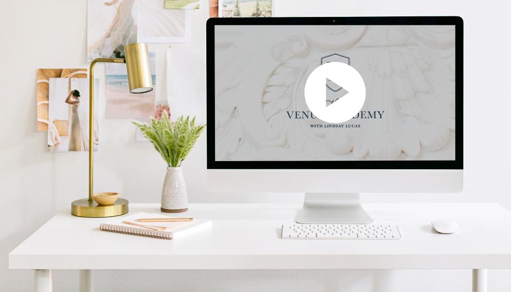 Build a Wedding Venue Training Video