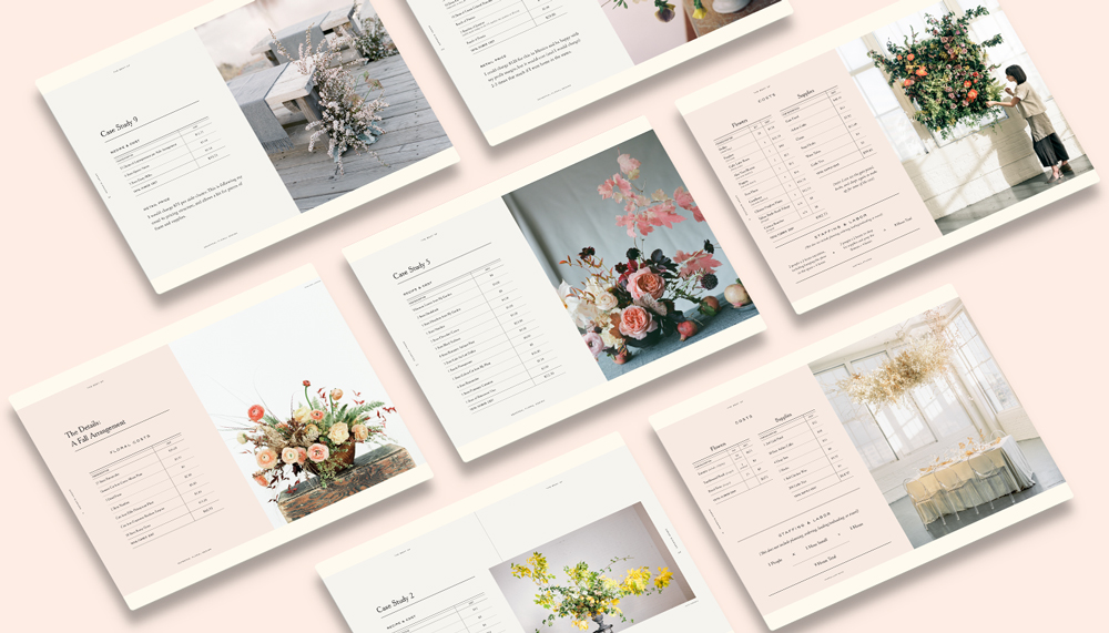 Floral Design Course - 50+ Floral Recipes and Pricing