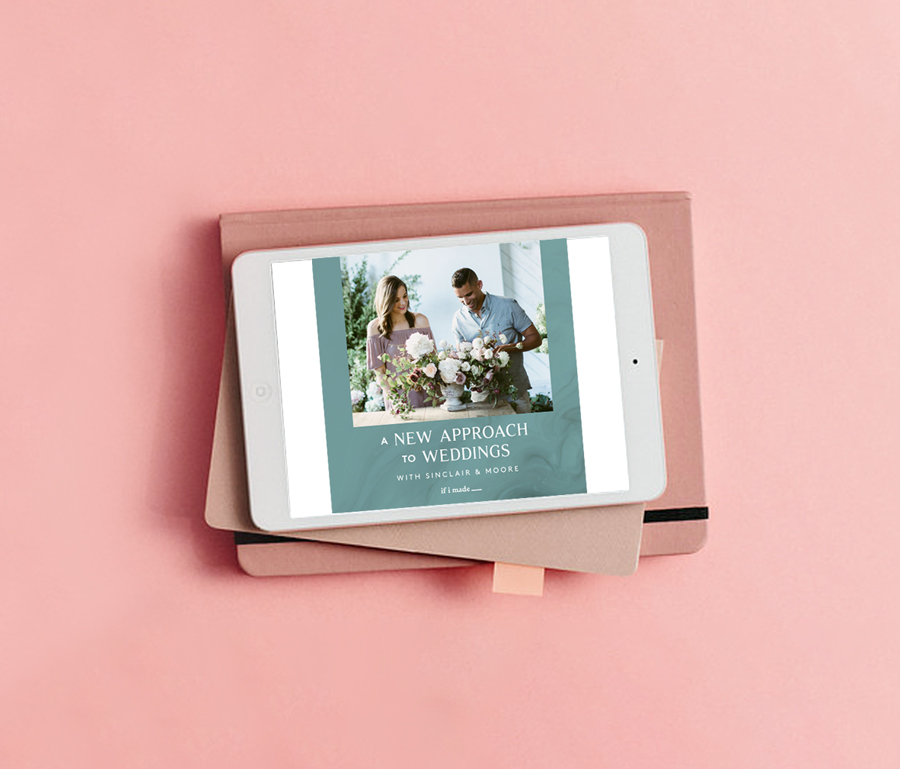 Online learning from the creatives you admire most in the wedding industry.