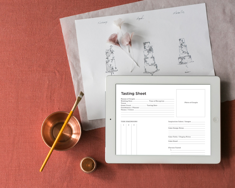 Client Proposal and Tasting Templates