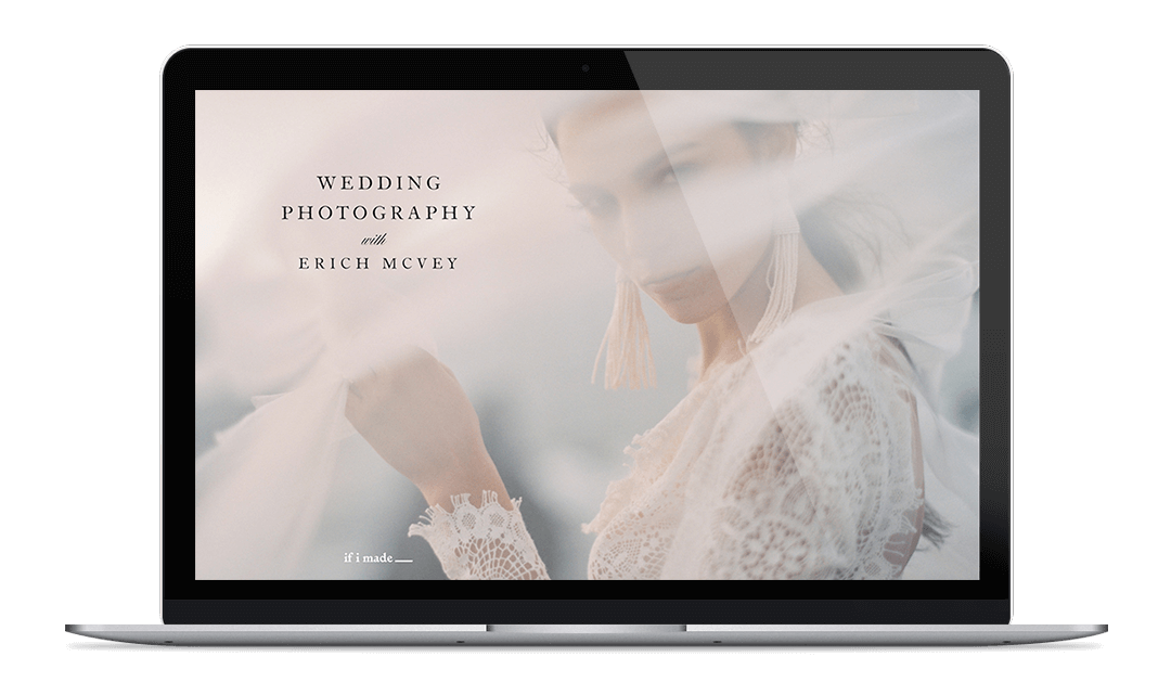 Wedding Photography Course with Erich McVey