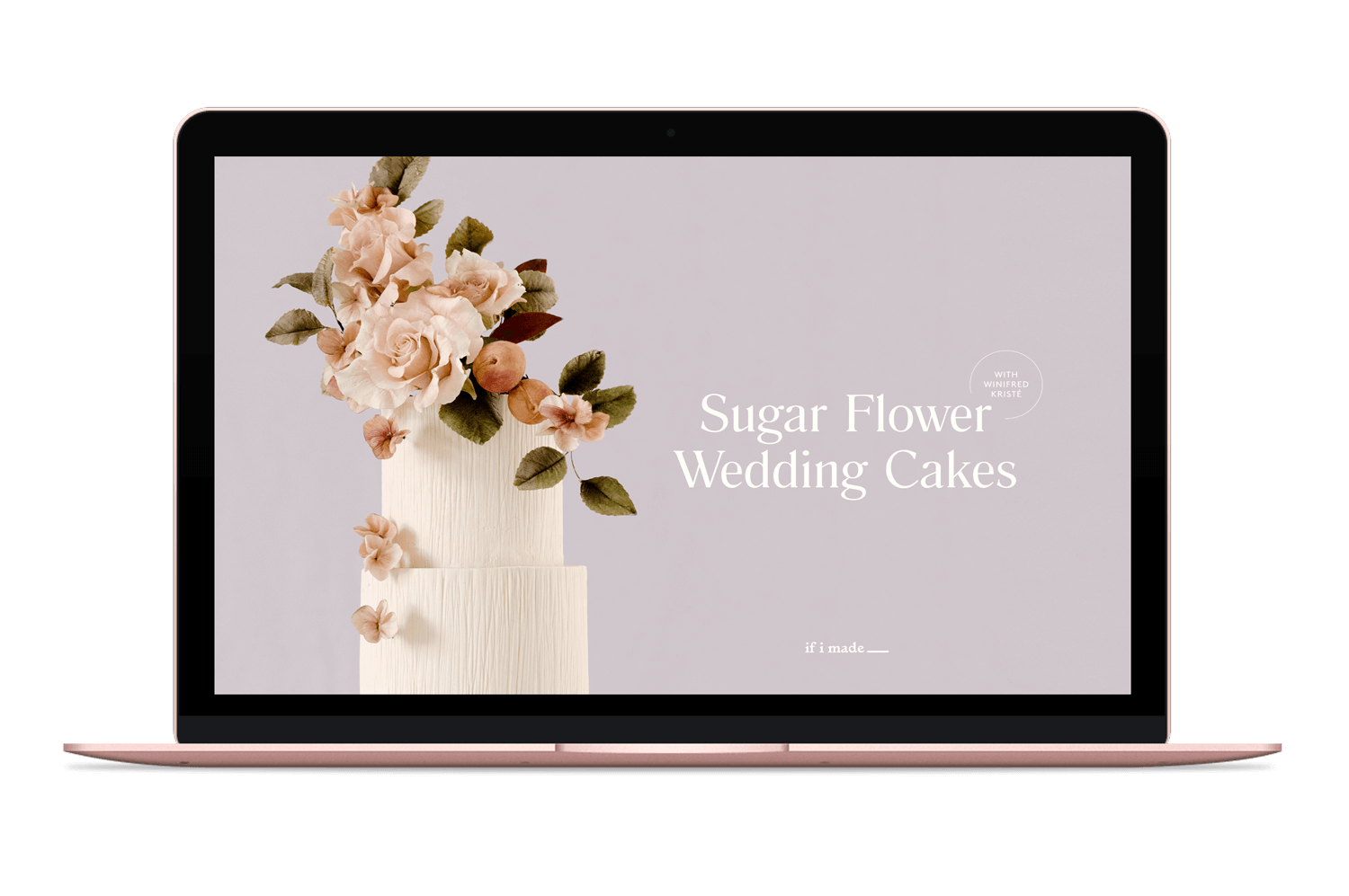 How to make Sugar Flower Cakes Online Course