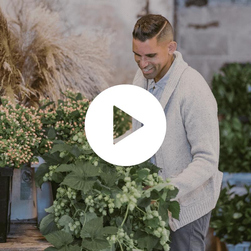Flower market buying