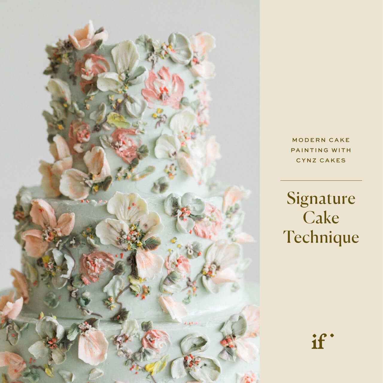 Signature Wedding Cake Technique