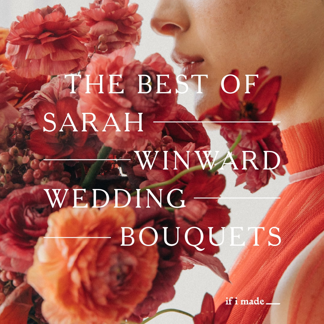 Sarah Winward Wedding Bouquets