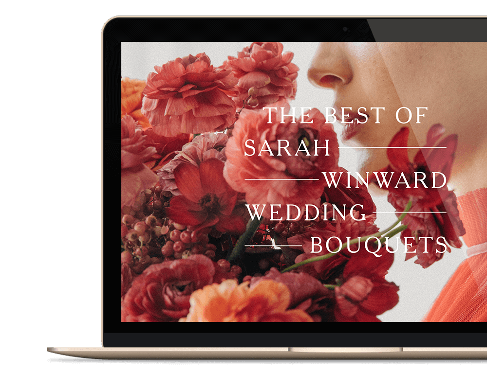 Sarah Winward Wedding Bouquets Macbook png