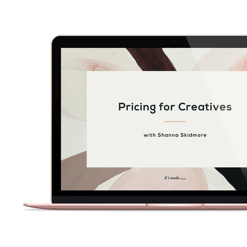 The power of the Pricing for Creatives Course