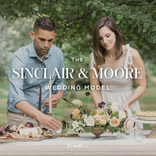 The Sinclair & Moore Wedding Model
