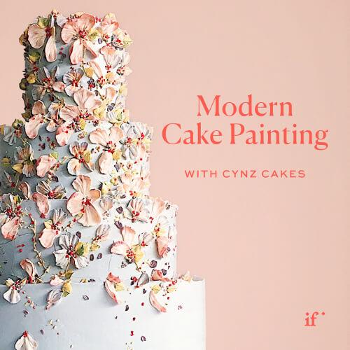 Modern Cake Painting