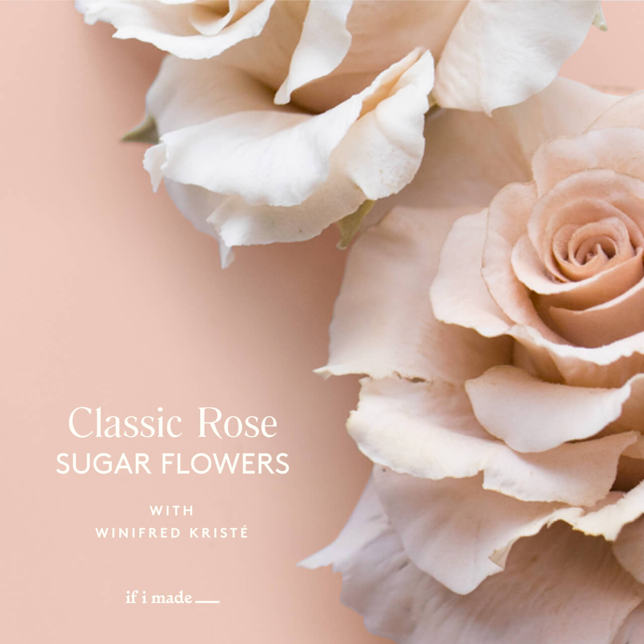 Classic Rose Sugar Flowers