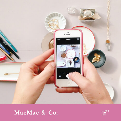 Styling for Your Instagram and Website with MaeMae & Co.
