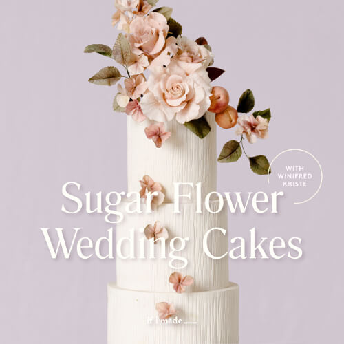Sugar Flower Wedding Cakes