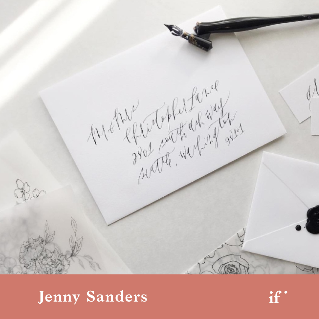 Fine Art Wedding Invitations: From Start to Finish with Jenny Sanders
