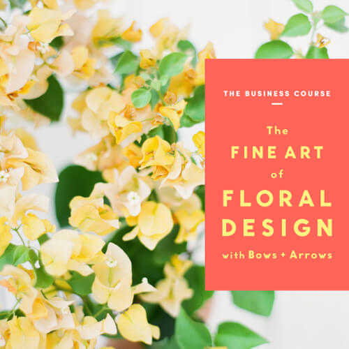 The Fine Art of Floral Design: The Business Course