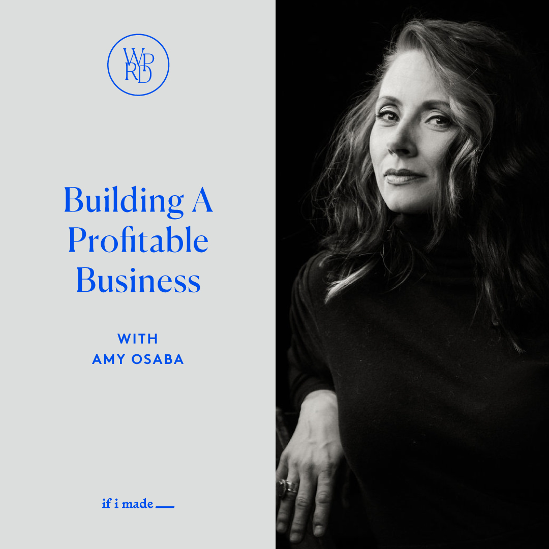 Building a Profitable Business with Amy Osaba