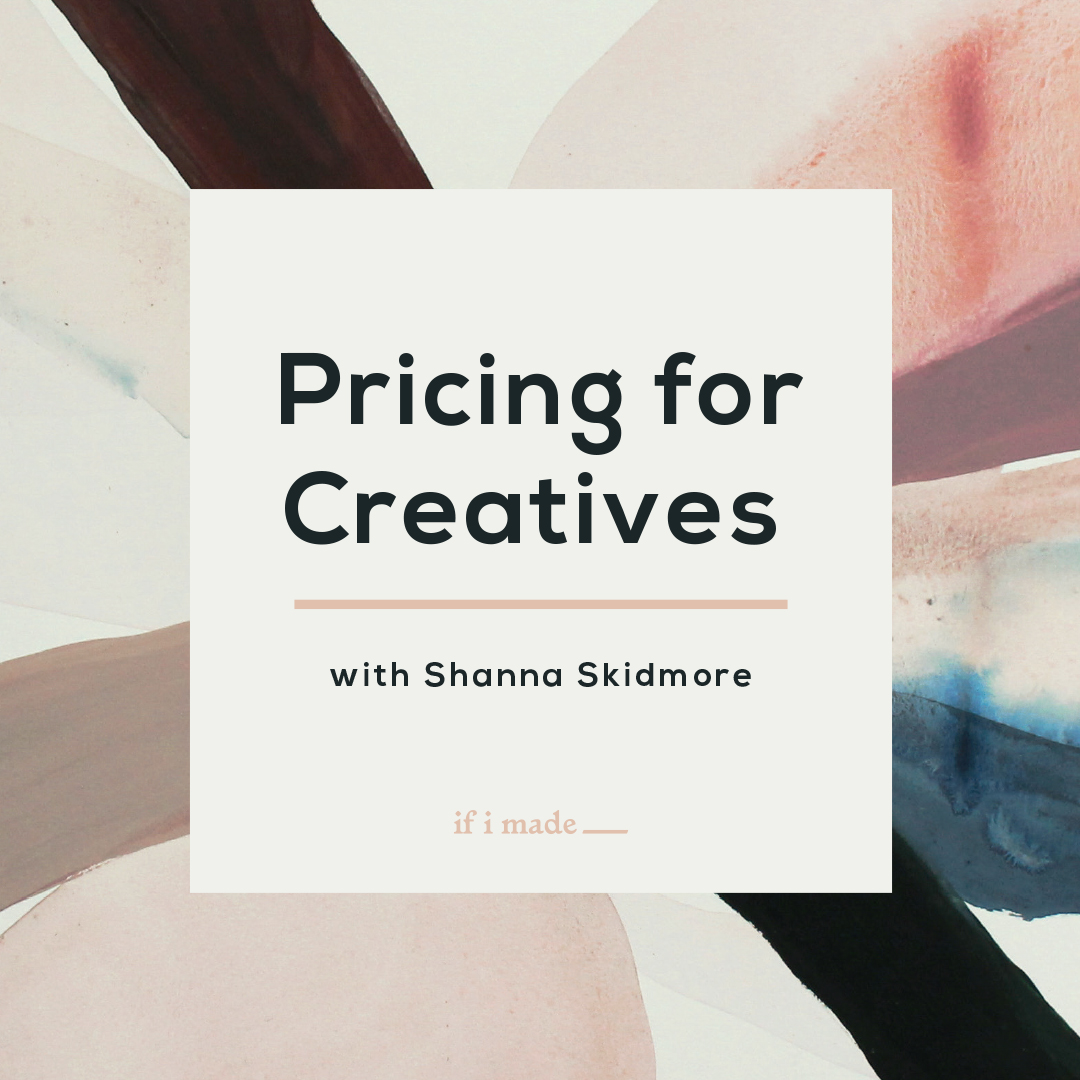 Pricing for Creatives