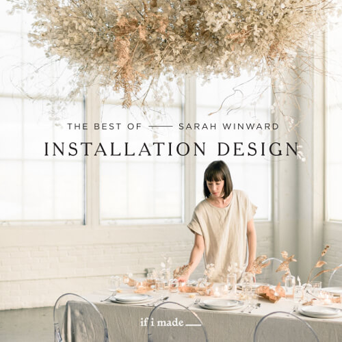 The Best of Sarah Winward: Installation Design