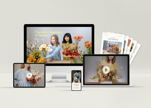 9 Step-by-Step Floral Design Video Tutorials