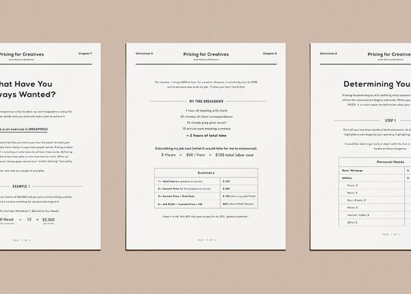 5 Printable Worksheets